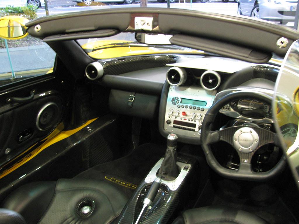Pagani Zonda C12 Interior   CBD, Sydney   SuperCarMania ...