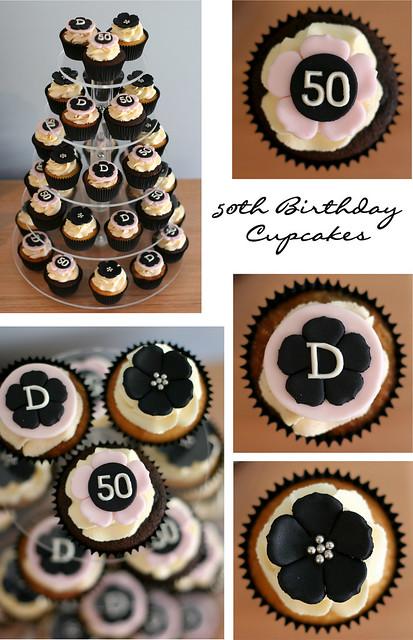 50th Birthday Cupcakes Flickr Photo Sharing