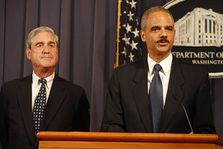 Robert Mueller and Eric Holder | by ryanjreilly