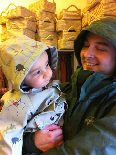 Eli's new raincoat oct 2010 | by Faith Al-Egaily