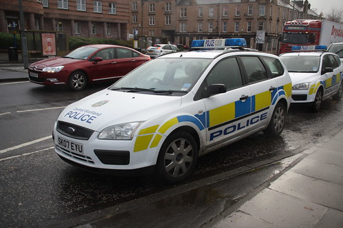 SK07 EYU FORD FOCUS ESTATE CENTRAL SCOTLAND POLICE | by steviebusman