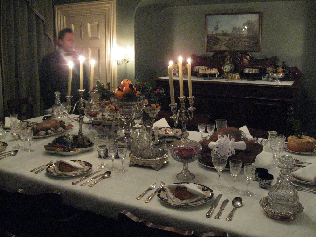 victorian table setting sir george tienne cartier