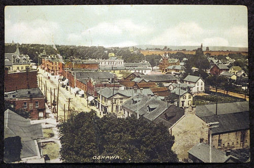 Oshawa from Simcoe Street United Steeple | by heritage oshawa