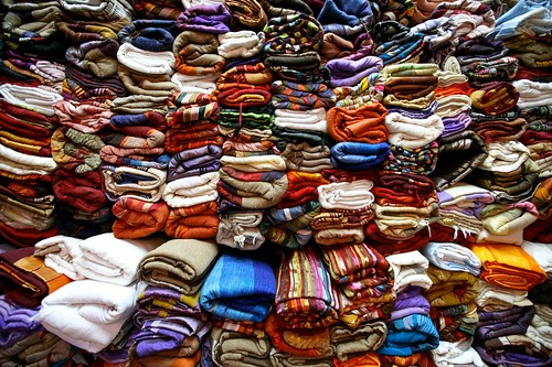 A Pile of Scarfs | by Alex E. Proimos