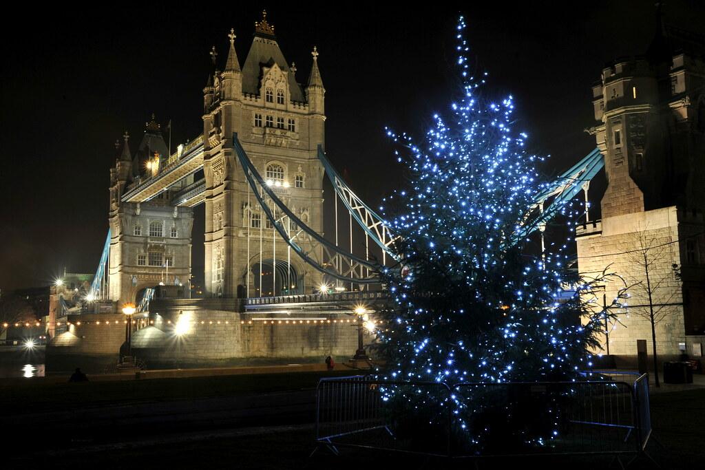Tower Bridge and Christmas Tree, London | Stephan Rudolph ...