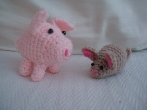 pig and mouse | by bunny mummy