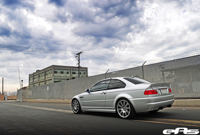 Titanium Silver E46 M3 W Aurora Angel Eyes 2 169 All Rights Flickr