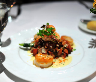 3rd Course: Pan-Seared Georges Bank Dry Pack Scallops | by ulterior epicure
