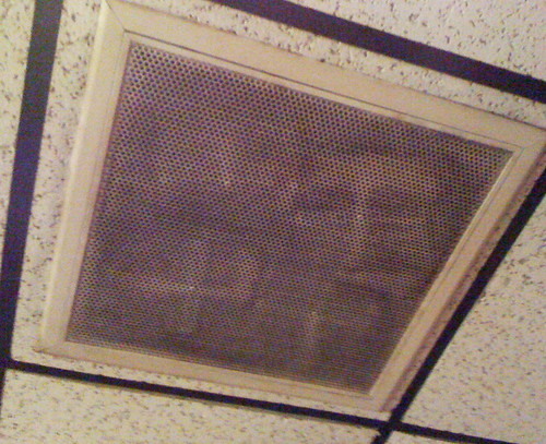 Face of Jesus in Ceiling Vent?!?  OMG | by Patrick Hoesly