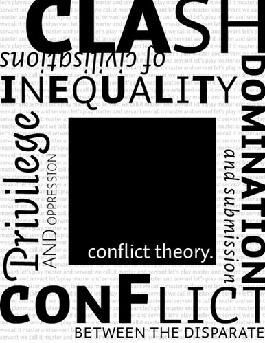 human development and conflicting theoretical views They believed that conflict was a necessary part of society conflict, as a sociological theory, was formalized in the 19th and 20th centuries, building upon the ideas of people like those mentioned above many sociologists have contributed to the development of conflict theory, including max gluckman, john rex, lewis a.