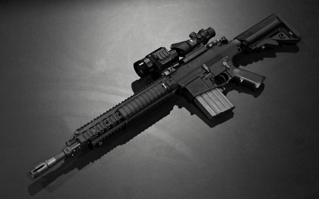 kac sr 25 em carbine wallpaper this is sized for 1440x900 flickr