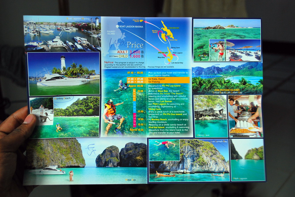 Phi Phi Island Travel Brochure  This Was The Tour We Ended   Flickr