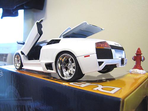 Jada Dub City Lamborghini Murcielago Lp640 Wheeltoyz
