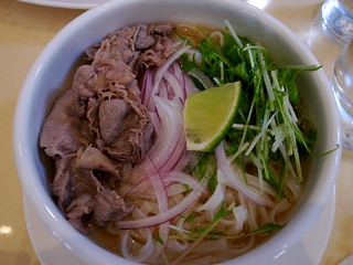 Beef pho | by pelican
