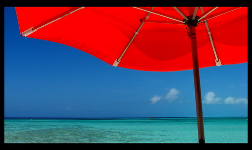 Under The Umbrella At Serenity Bay