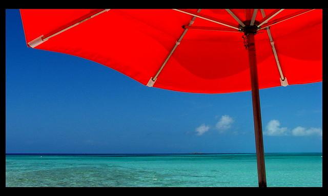 Under The Umbrella At Serenity Bay