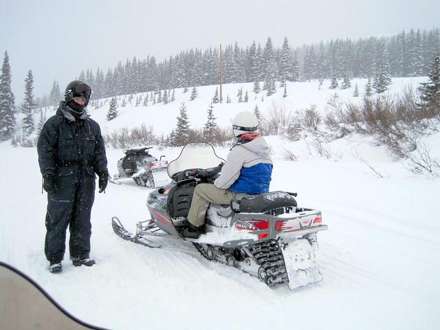 Colorado Snowmobile Tours Summit County