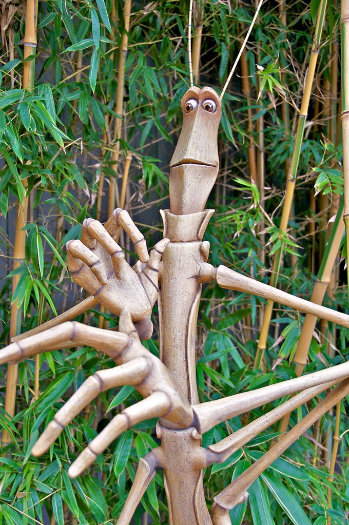 slim the walking stick from a bug s life in a bug s land flickr