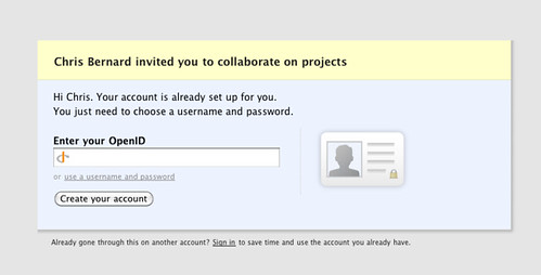 how to create new account on imax