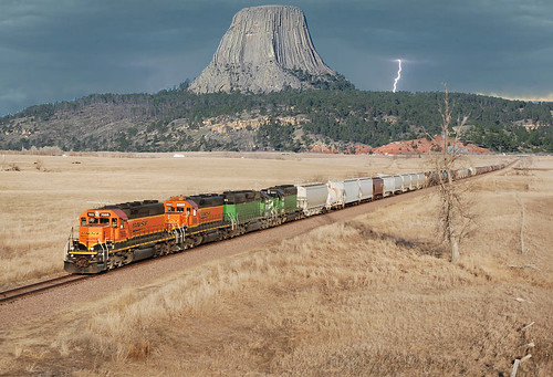 Milwaukee Road Pacific Extension has a new branchline that runs to Devils Tower, WYO.  For Not Calvin and Mike S and B. | by ~Ride Dirty or Die~