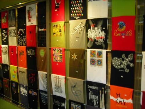 Tshirt Shop In Poble Espanyol Migpascual Flickr