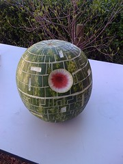 watermelon Death Star | by The Official Star Wars