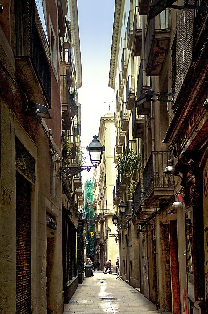 casco antiguo barcelona calle raurich jos mar a txema planas flickr. Black Bedroom Furniture Sets. Home Design Ideas