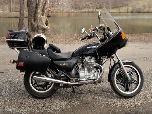 my sweet 30 year old ride   honda silverwing interstate flickr