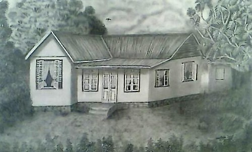 My dream house this is an upgrade drawing of the one i for My dream house drawing