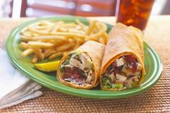 Chicken Caesar Wrap 1