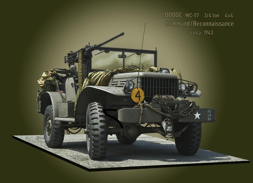 Dodge Wc 57 3 4 Ton Reconnaissance Vehicle Flickr