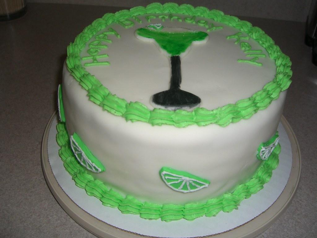 Margarita Birthday Cake Carrie Smith Flickr