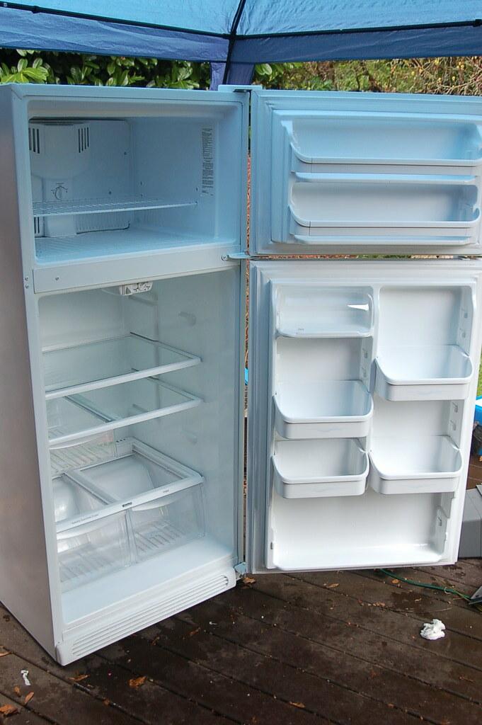 kenmore fridge inside. kenmore fridge, inside view | by tombraman fridge e