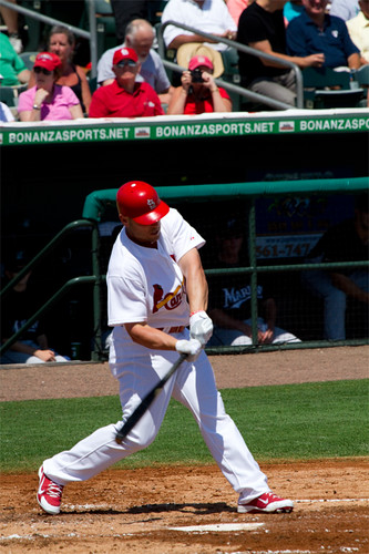 Cardinals Last Spring Training Game - Pic 26 | by BattlefieldPortraits.com