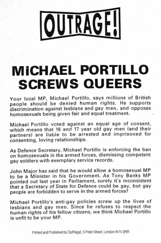 flyer-portillo-screws-queers | by outragelondon