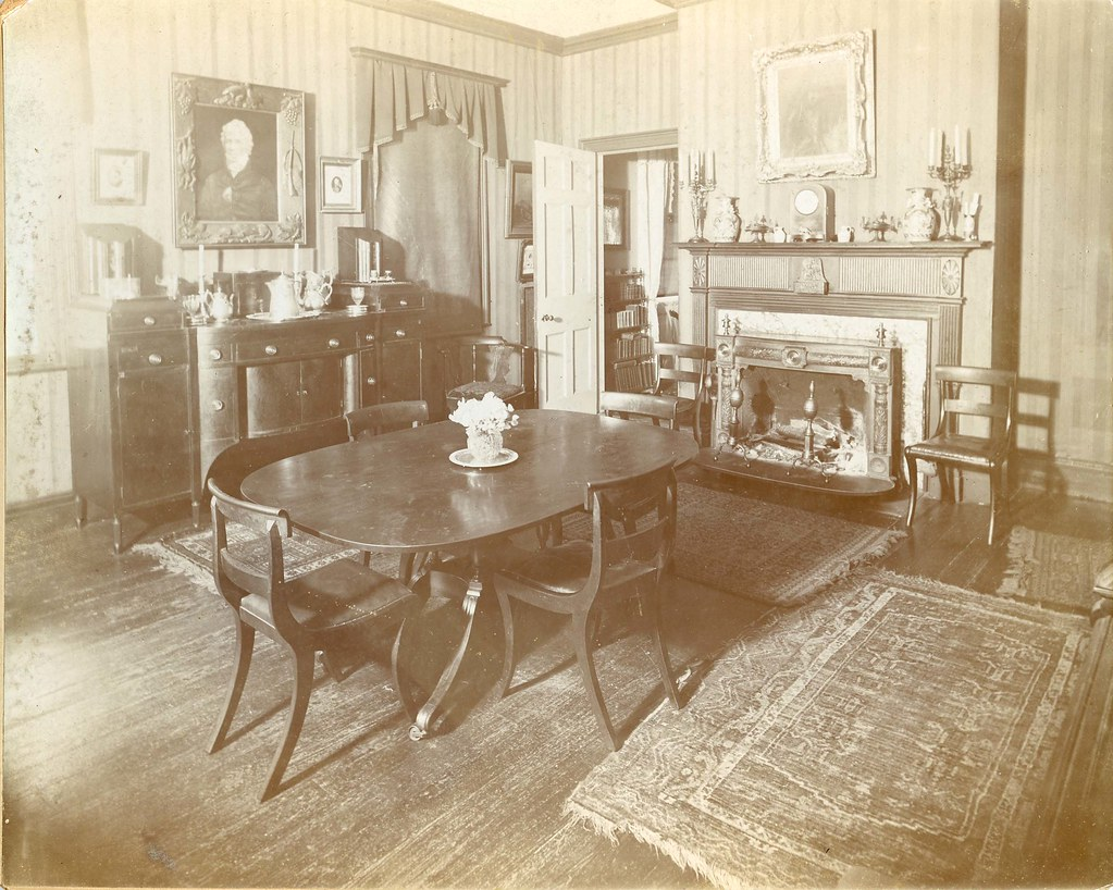 Dining Room In Arden House Call Number Collection 182
