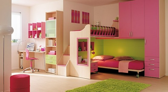 cool pink bedrooms 15 cool ideas for pink bedrooms 2 554x302 home 11257
