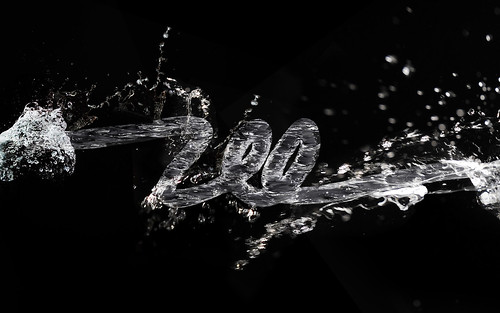3D Water Text Effect in Repousse with Photoshop CS5 | by abduzeedo