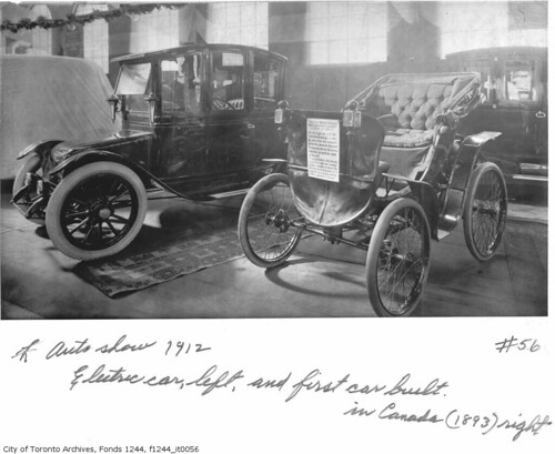 In What Year Was The First Electric Car Built
