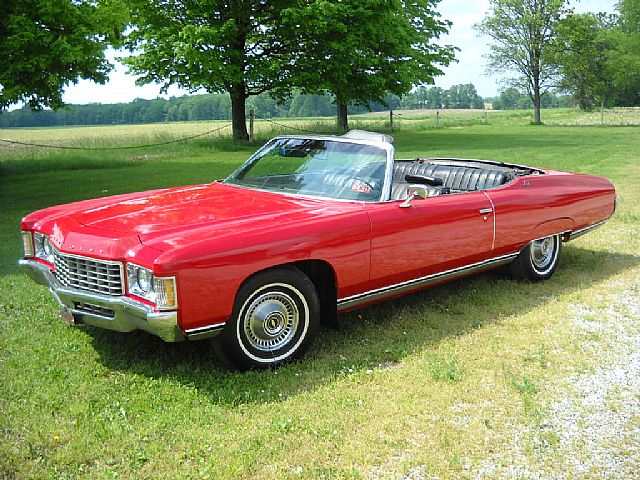 1971 Chevrolet Impala See More Impalas At Collector Car