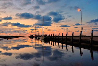 Total reflection, long after sunset | by powerfocusfotografie