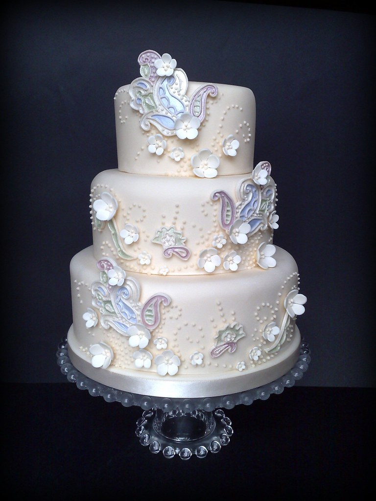 dream wedding cake quot a paisley quot wedding cake i had this image for 13745