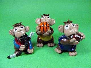Sport Monkeys | by DragonsAndBeasties