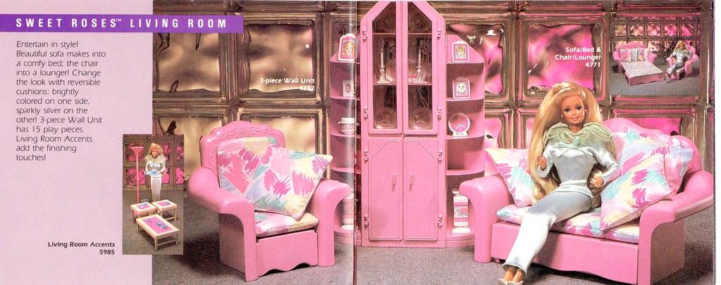 Barbie Sweet Roses Furniture | Living Room | Barbie Creations | Flickr