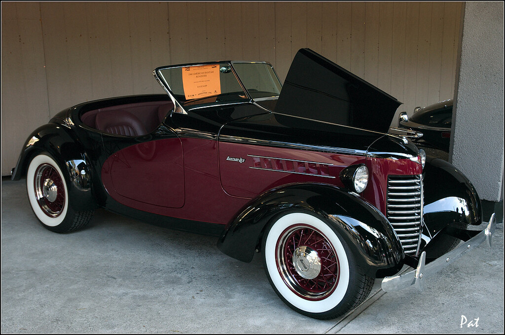 1940 american bantam roadster maroon black fvr flickr. Black Bedroom Furniture Sets. Home Design Ideas