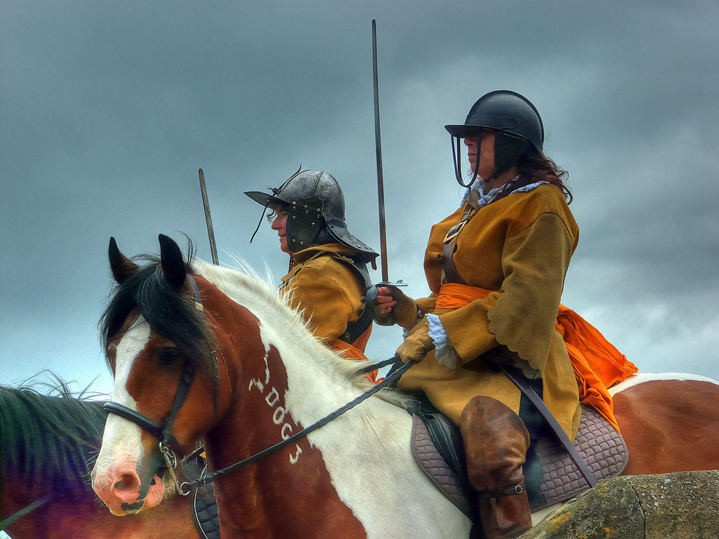 Roundheads Nice Civil War Re Enactment At St Ives Today P Flickr