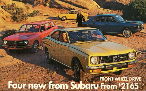 1973 Subaru Models | Alden Jewell | Flickr