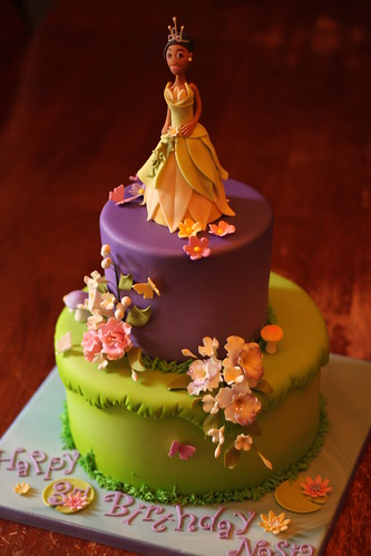 Princess And The Frog Cake Andrea Sullivan Flickr