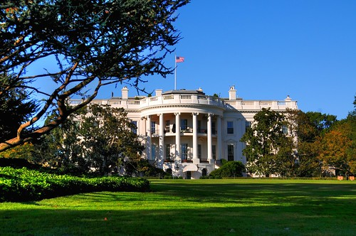 White House from Lawn