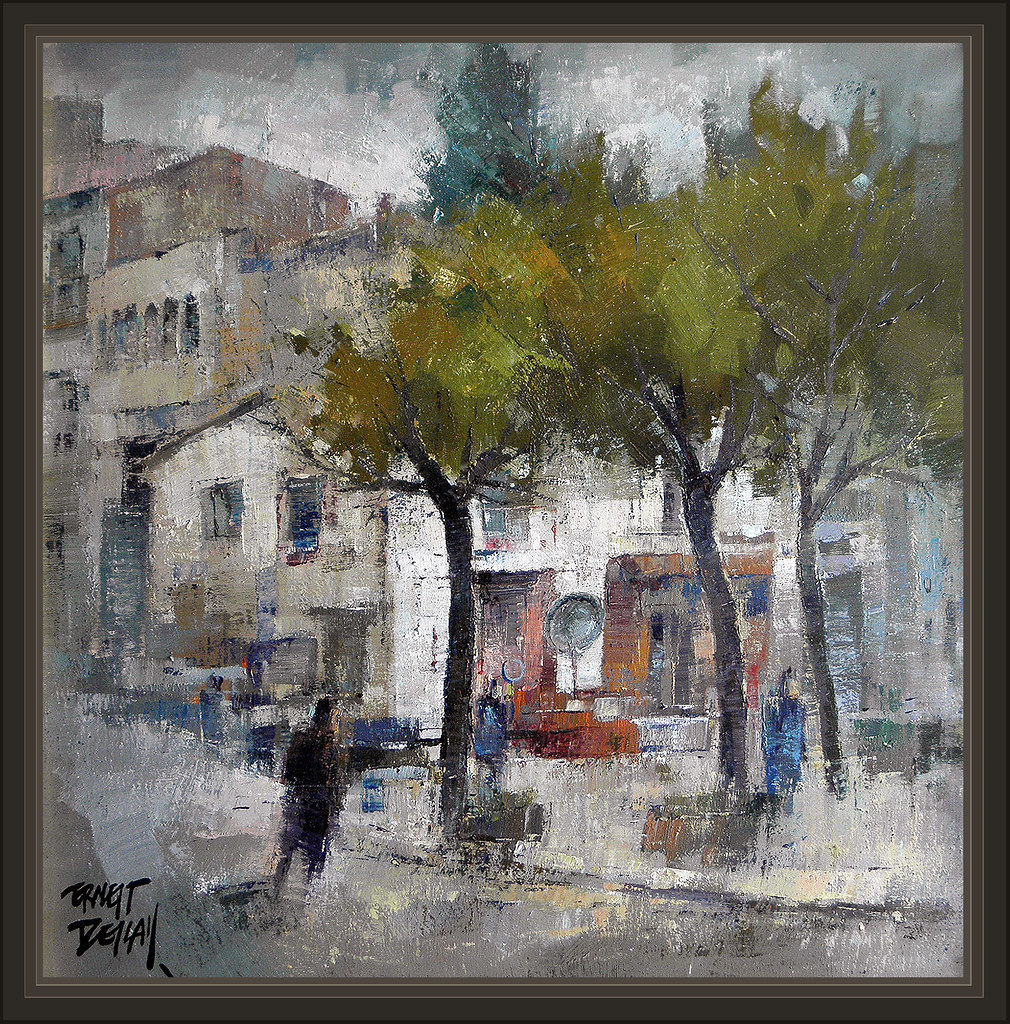 Sant feliu de codines barcelona paisajes invierno lluvia p flickr - Pintores de barcelona ...